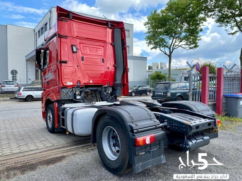 تبحث عن شاحنه مرسيدس اكتروس للبيع و مودسل 2013 ؟