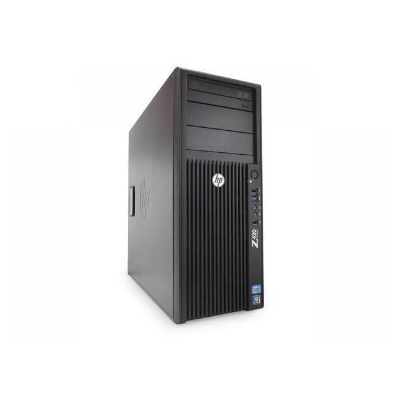 كمبيوتر hp workstation xeon 420