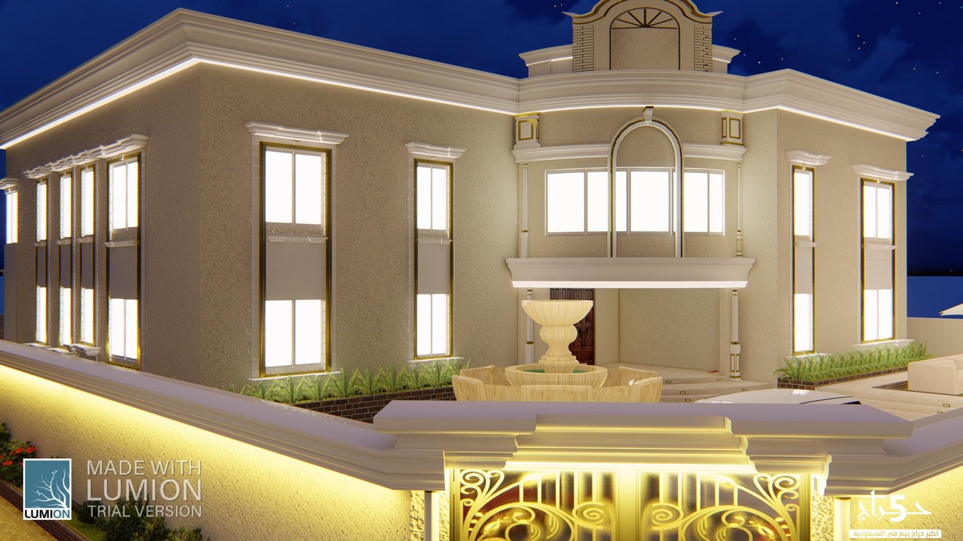 تصميم مخططات معمارية و واجهات 3d