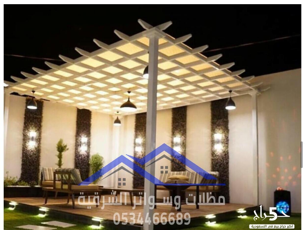 تركيب برجولات خشبية , جلسات حدائق منازل في الدمام , 0534466689