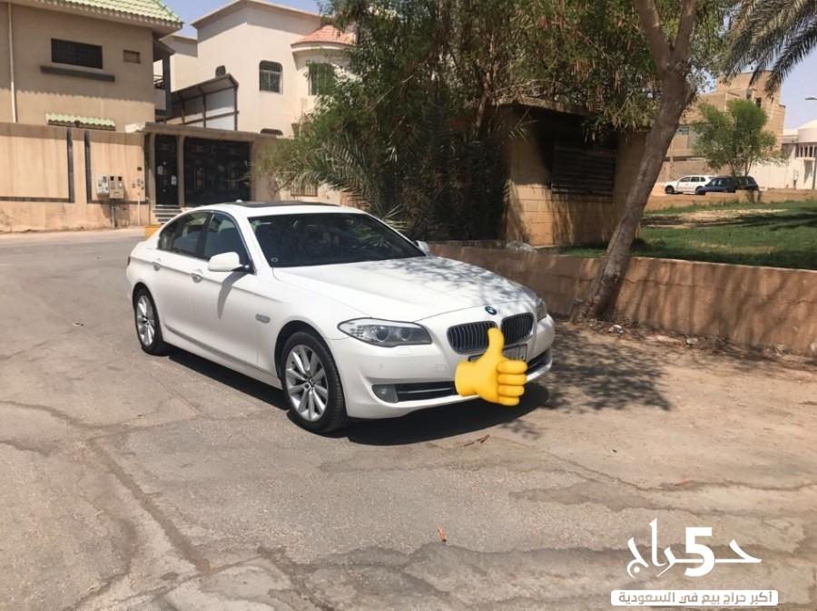 BMW 530 2012 بدي وكالة تحت الضمان ممشى قليل