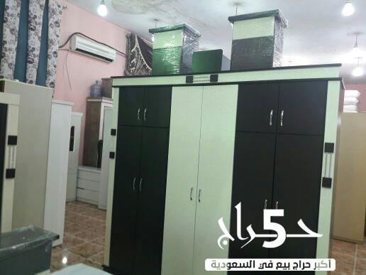 غرف نوم وطني جديده 6 قطع بدون فراش
