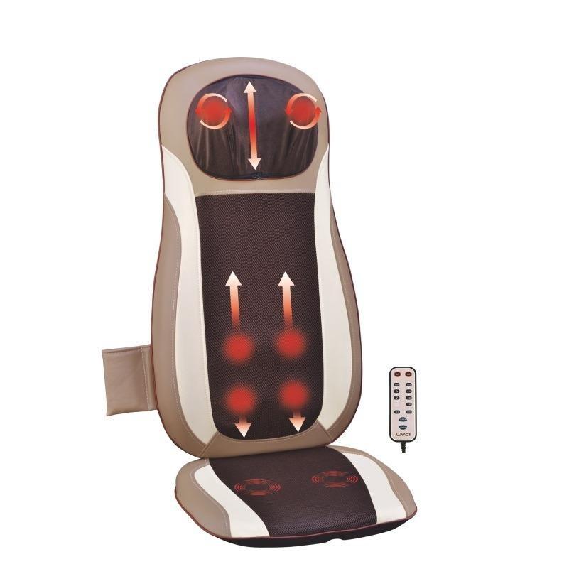 عرض كرسي مساج متنقل بخاصية 3D للسيارة والمنزل